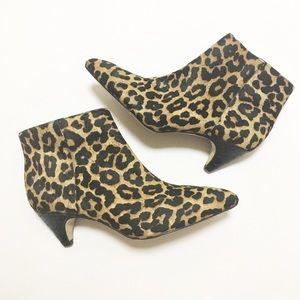 Sam Edelman Leopard Print Kinzey Booties